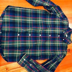 Gap button down shirt size 10
